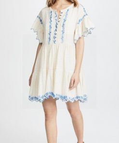 Hippie chic Luxus Kleid