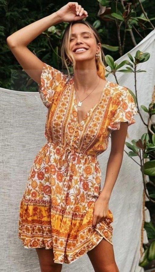 Hippie Kleid elegant