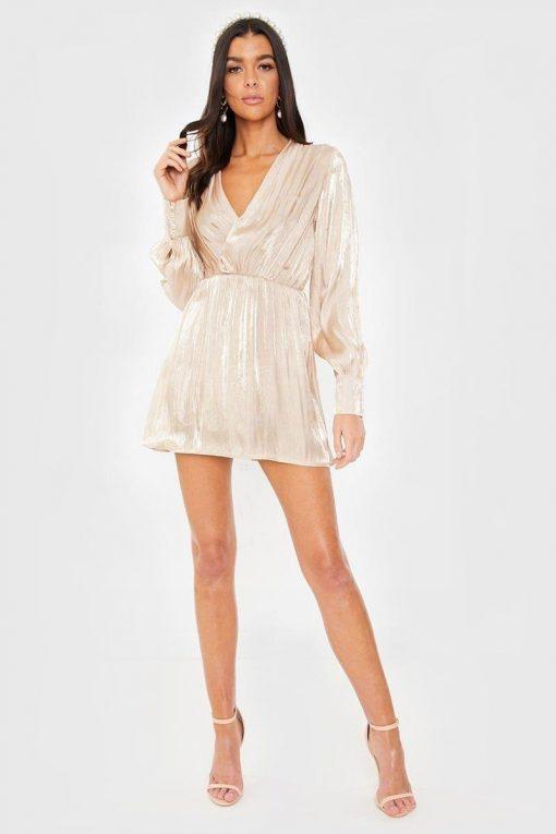 Kurzes weißes Hippie Sommerkleid